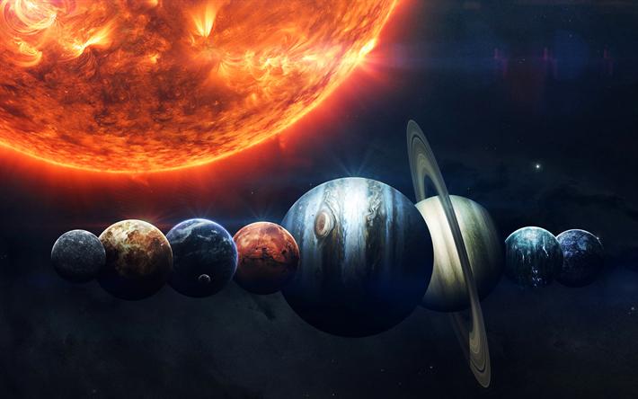 Mercury Venus Earth Mars Jupiter Saturn Uranus Neptune