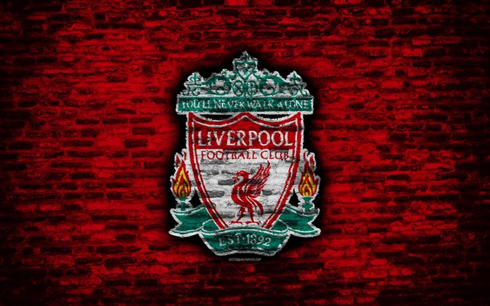 Download Imagens O Liverpool Fc Logo Parede De Tijolo Vermelho Premier League Clube De Futebol Ingles Futebol Os Vermelhos Textura De Tijolos Liverpool Inglaterra Gratis Imagens Livre Papel De Parede