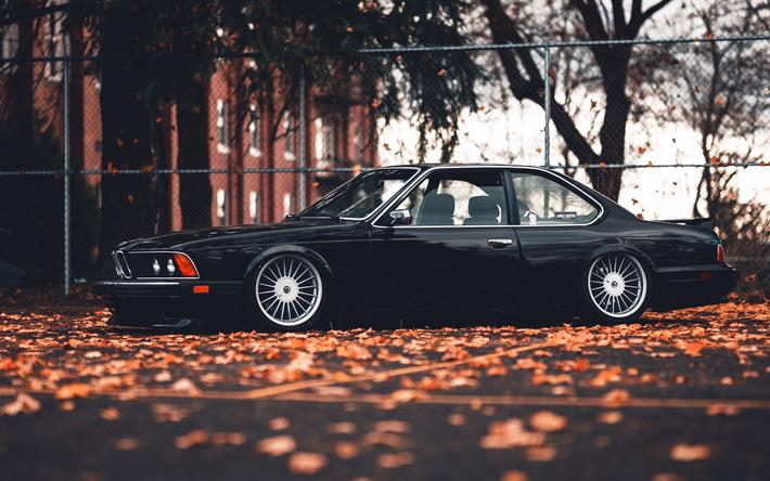 Descargar Fondos De Pantalla Bmw 635 Csi Negro Coupe