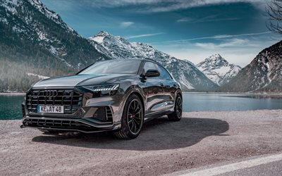 ABT, tuning, Audi Q8, 4k, 2019 cars, road, SUVs, 2019 Audi Q8, german cars, Audi