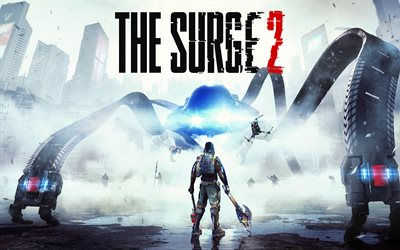 The Surge 2, 2019, poster, promotional materials, Deck13 Interactive, PlayStation 4, Xbox One, Focus Home