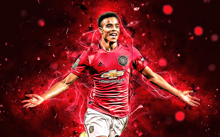 Download Wallpapers Mason Greenwood, 2019, Manchester