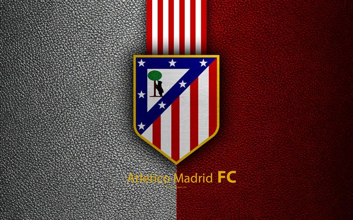 Herunterladen Hintergrundbild Atletico Madrid 4k Spanische Fußball