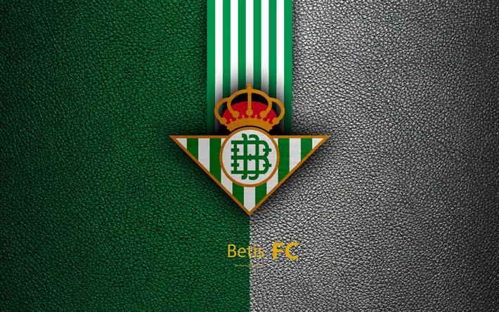 Descargar Fondos De Pantalla El Real Betis FC, 4k, Club De