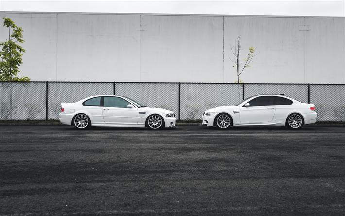 Descargar Fondos De Pantalla Bmw 3 Coupe Blanco Blanco Coches