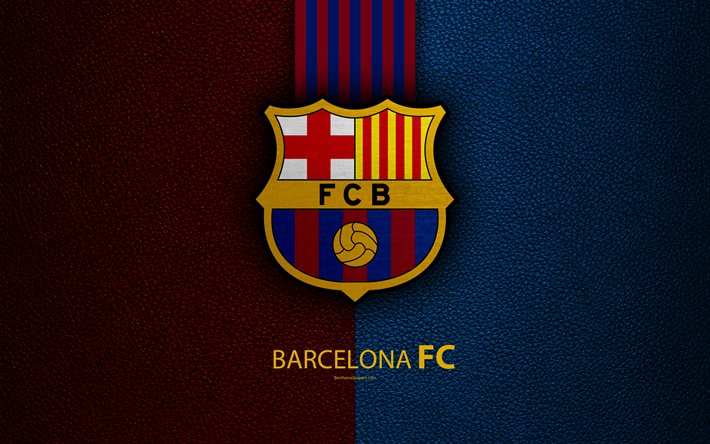 Download Wallpapers Barcelona FC, 4K, Spanish Football