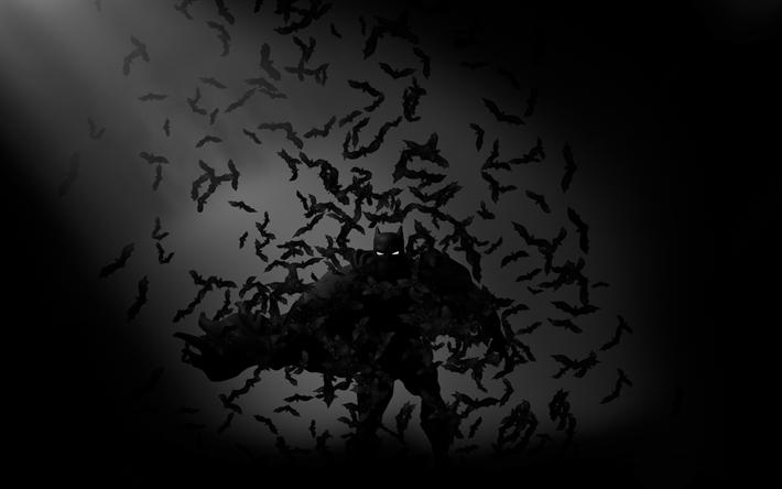 Scarica sfondi batman 4k i supereroi i pipistrelli le for Sfondi batman