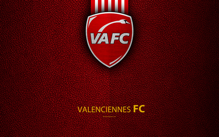 Download wallpapers valenciennes fc french football club - Logo valenciennes ...