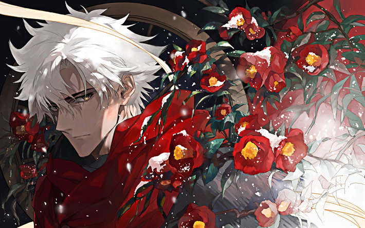 EMIYA, 4k, Fate Grand Order, Assassin, manga, TYPE-MOON, Fate Series
