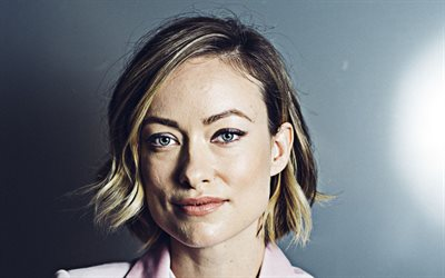 Olivia Wilde, American actress, portrait, face, beautiful eyes, Hollywood star, USA