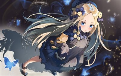 Abigail Williams, Foreigner, Fate Grand Order, artwork, Fate Series, protagonist, manga, TYPE-MOON