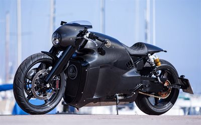 Lotus C-01, moto unique, carrosserie en fibre de carbone, cool moto, Lotus