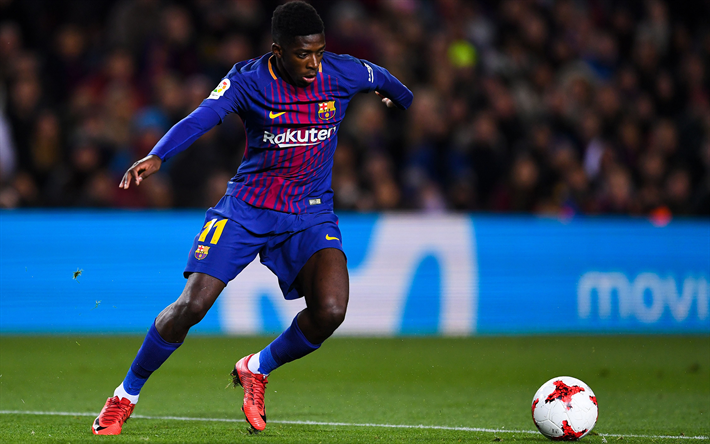 Download Wallpapers Dembele Barca 2018 Fc Barcelona Fan