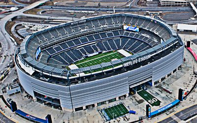 MetLife Stadium, East Rutherford, New Jersey, National Football League, american football stadium, NFL, New York Giants, New York Jets, USA, American football, American stadiums