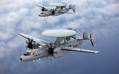 Deck-based aircraft, Grumman E-2 Hawkeye, United States Navy, US Air Force, tactical airborne, USA Army, Northrop Grumman
