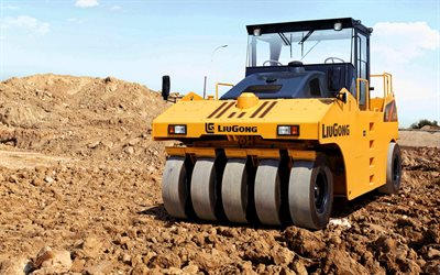 LiuGong  630R, road rollers, 2012 rollers, construction machinery, special equipment, rollers, construction equipment, LiuGong, HDR