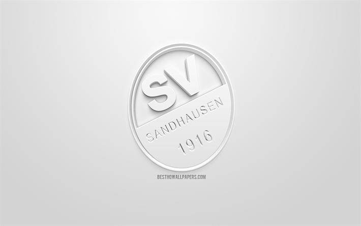 Herunterladen Hintergrundbild Sv Sandhausen Kreative 3d