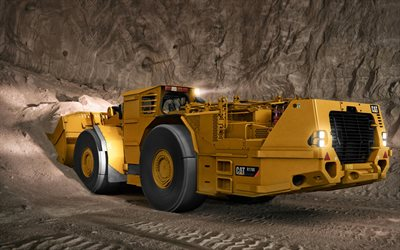 Caterpillar R1700G, wheel loader, underground mining, tunnel construction concepts, construction machines, Caterpillar