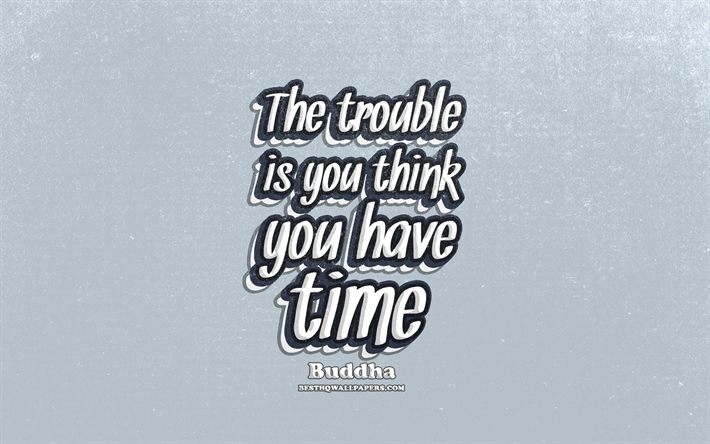 Download Wallpapers 4k The Trouble Is You Think You Have