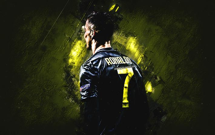 Scarica Sfondi Cristiano Ronaldo Il Portoghese Giocatore Di Calcio