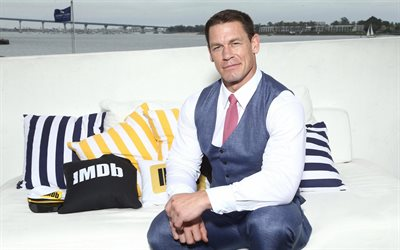 John Cena, WWE, american wrestler, portrait, photoshoot, John Felix Anthony Cena Jr