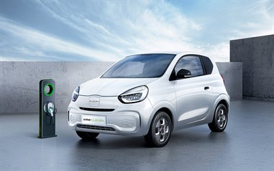 Roewe Clever, street, 2020 cars, electric cars, compact cars, 2020 Roewe Clever, chinese cars, Roewe