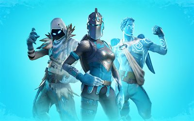 Fortnite Battle Royale, poster, 2020 oyunları, minimalizm, Fortnite