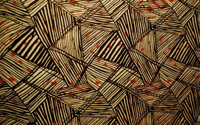 abstract geometric pattern, abstract paper backgrounds, triangles, geometric shapes, geometric textures