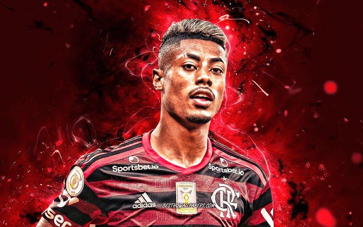Download Wallpapers Bruno Henrique, 2020, Brazilian