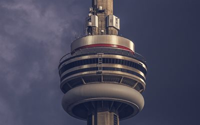 CN Tower, Toronto, Canada, TV tower