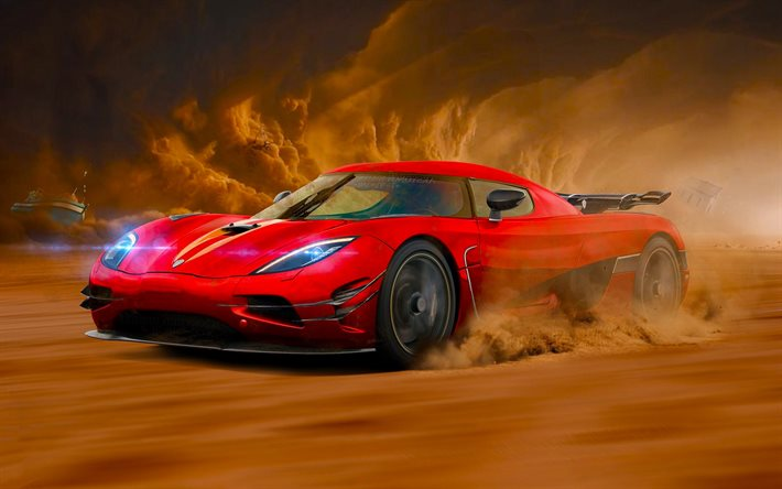 Download wallpapers Koenigsegg Agera R, movement ...