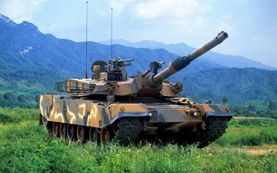K2 Black Panther, South Korean tank, main battle tank, South Korea, US Navy LCAC