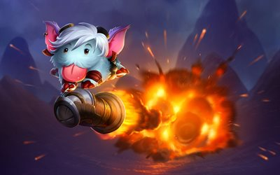 Tristana Poro, characters, art, League Of Legends