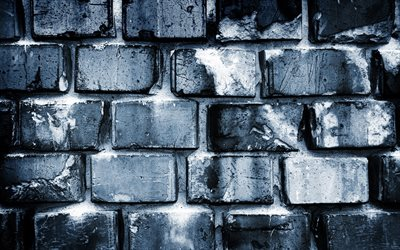 gray bricks background, 4k, close-up, gray bricks, gray brickwall, bricks textures, brick wall, bricks, wall, bricks background, gray stone background, identical bricks