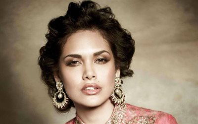 Bollywood, Esha Gupta, indian actress, beauty, brunette, portrait