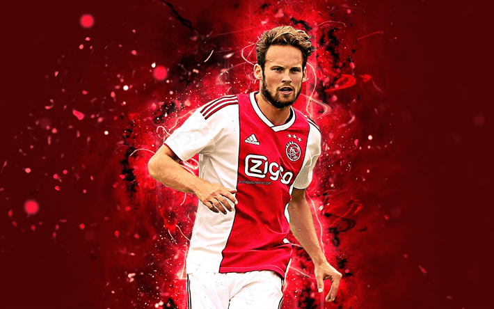 Daley Blind Wallpaper: Download Wallpapers Daley Blind, 4k, Abstract Art, Footballers, Ajax, Soccer, Blind, Dutch