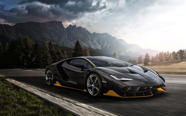 Download Wallpapers Lamborghini Centenario 2018 4k Luxury