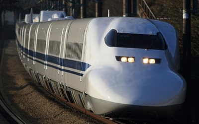 Train, Japan, modern trains, high-speed train