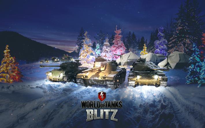 Descargar Fondos De Pantalla World Of Tanks Blitz 4k Wot