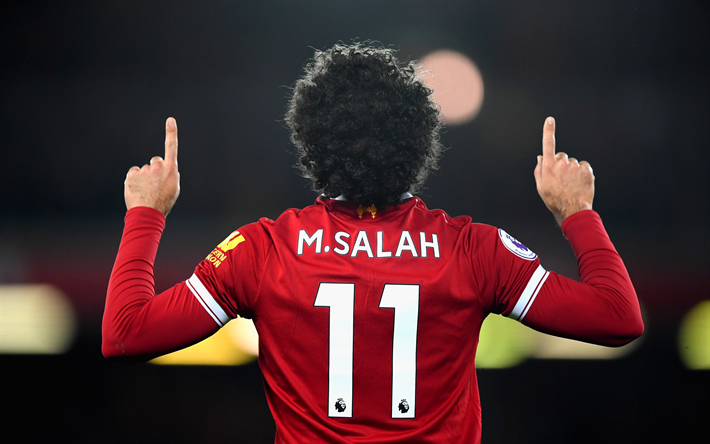 Mohamed Salah, Egyptian football player, Liverpool FC, England, Premier League, football