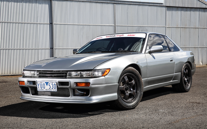 Download wallpapers nissan silvia s13 tuning japanese - Nissan silvia s13 wallpaper ...