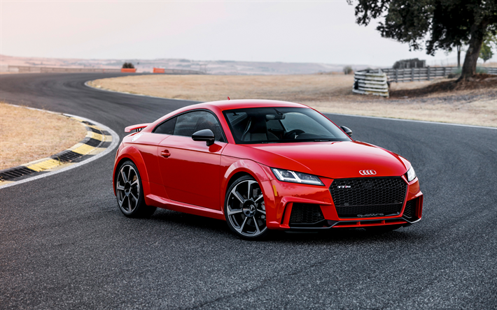 Audi Tt Rs Game: Download Wallpapers Audi TT RS, 2018, Sports Coupe, Racing