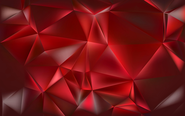 Télécharger Fonds Décran Polygones Triangle 4k Fond