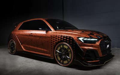 ABT, tuning, Audi A1, supercars, 2019 cars, studio, Audi A1 1 Of 1, german cars, 2019 Audi A1, Audi