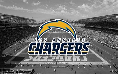 Los Angeles Chargers, Dignity Health Sports Park, StubHub Center, American football team, Los Angeles Chargers logo, emblem, Los Angeles Chargers Stadium, American football stadium, NFL, Los Angeles, California, USA
