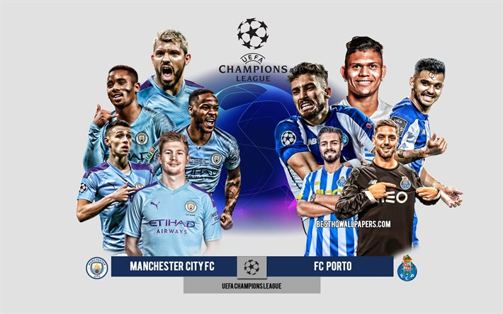 Download Wallpapers Manchester City Fc Vs Fc Porto Group C Uefa Champions League Preview Promotional Materials Football Players Champions League Football Match Manchester City Fc Fc Porto For Desktop Free Pictures For