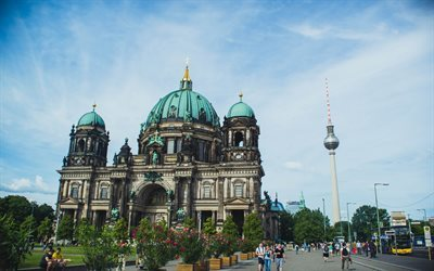 Berlin Cathedral, Berlin, Germany, Berlin landmark