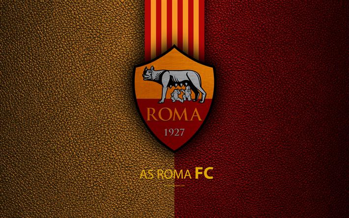 Download imagens Roma FC, 4k, Italiano de futebol do clube, Serie ...