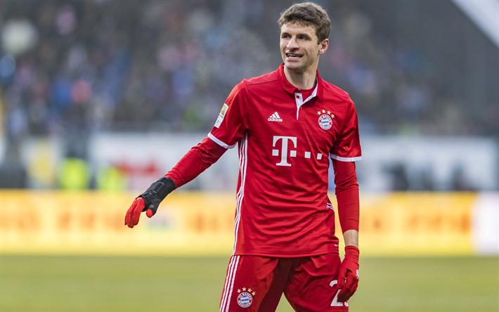 Download imagens Thomas Muller, 4k, futebol, O Bayern De ...