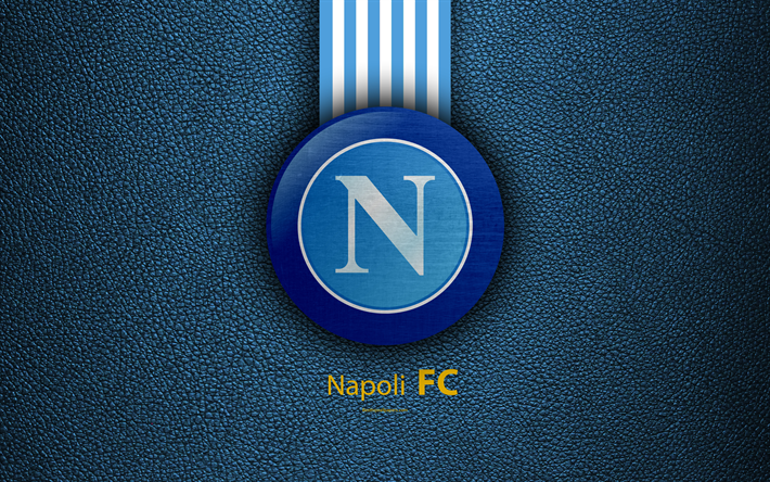 download wallpapers napoli fc 4k italian football club